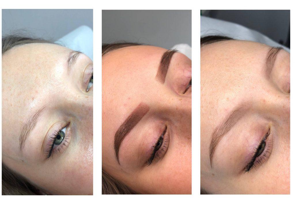 Makijaż Permanentny Brwi Ombre Czy Microblading Pretty Studio Beauty Day Spa
